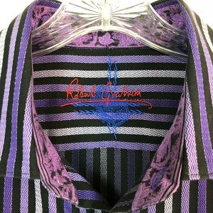 Robert Graham Shirts - ROBERT GRAHAM Knowledge Wisdom Truth Flip Cuff XL